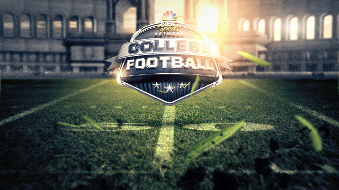 college footbal today nbc college football