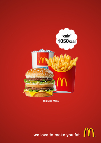 Mcdonalds advertisement poster