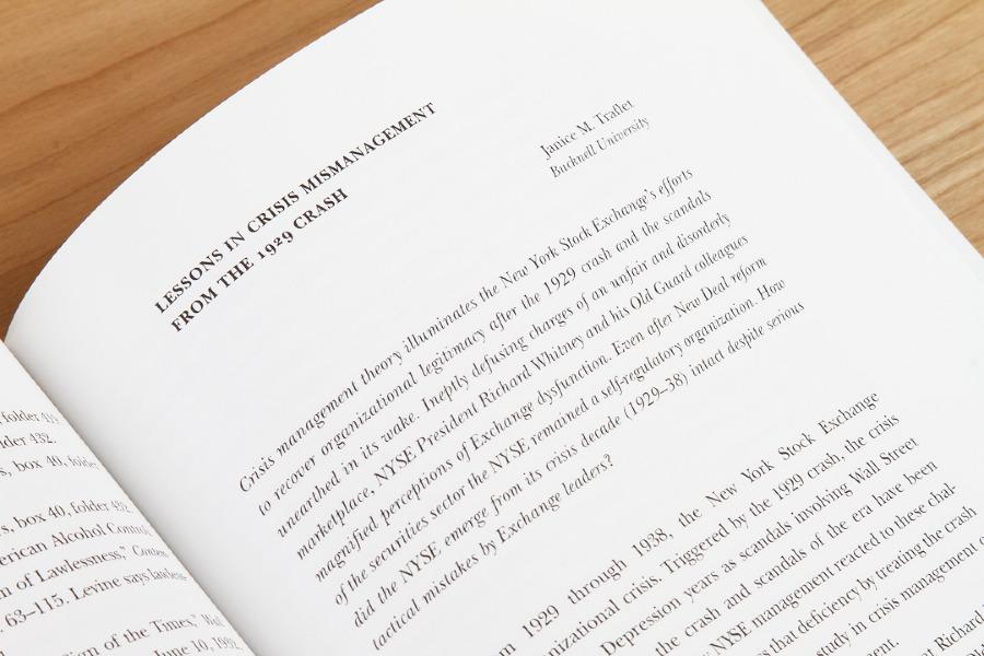 essays economic business history journal Información de la revista essays in economic and business history: the journal of the economic and business historical society.
